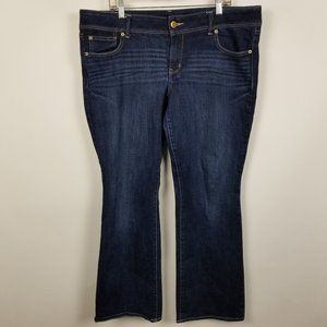 American Eagle Stretch Slim Boot Cut Jeans 18